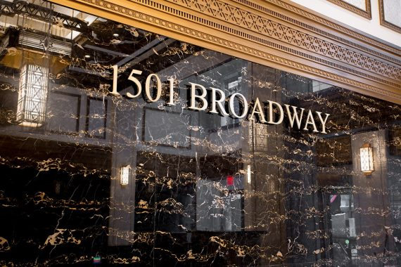 1501 Broadway Address Black