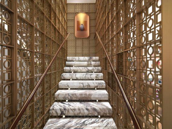 bulgari stairs