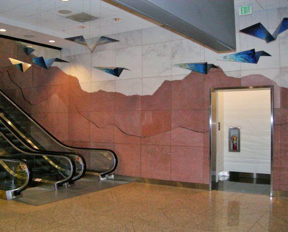 Escalator Walls
